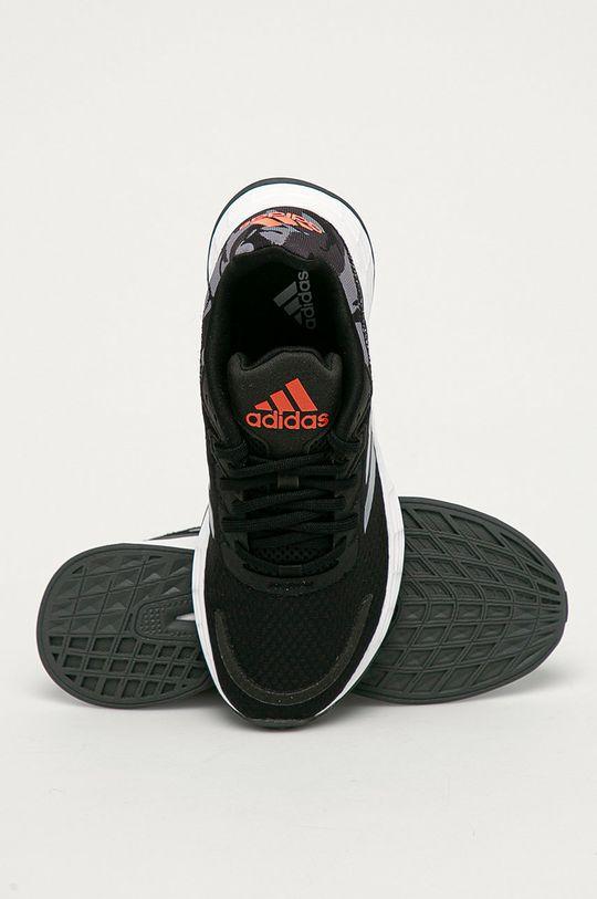 čierna adidas - Detské topánky Duramo Sl