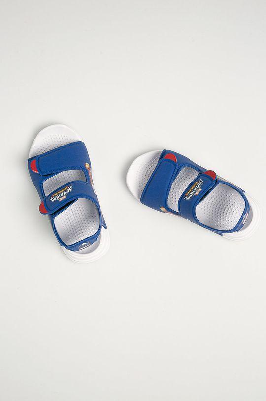 niebieski adidas - Sandały dziecięce