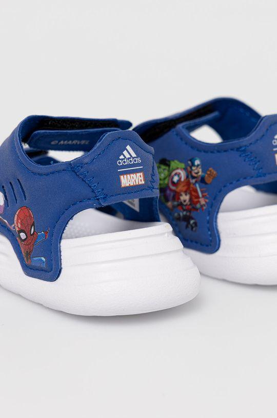 adidas - Sandały dziecięce Swim Sandal I x Marvel Cholewka: Materiał syntetyczny, Wnętrze: Materiał syntetyczny, Materiał tekstylny, Podeszwa: Materiał syntetyczny