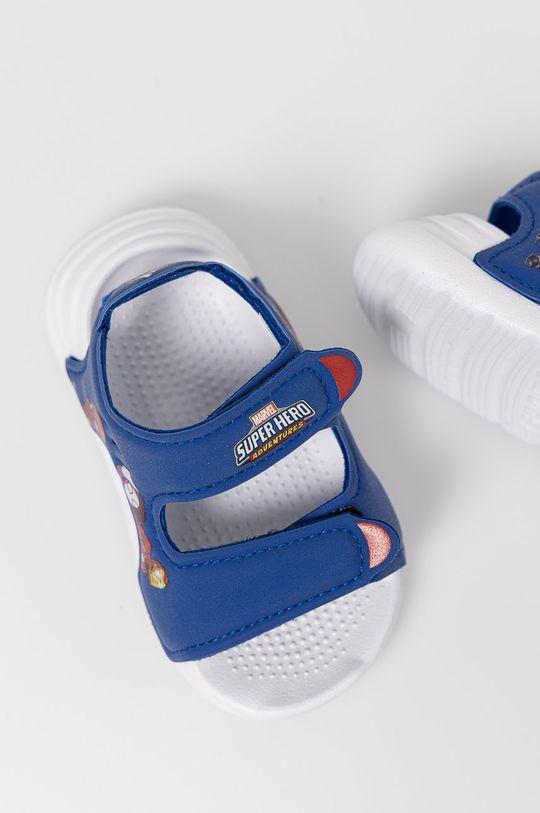 adidas - Sandały dziecięce Swim Sandal I x Marvel Chłopięcy