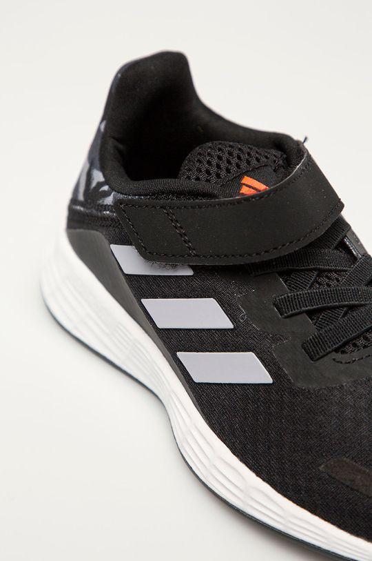 čierna adidas - Detské topánky Duramo