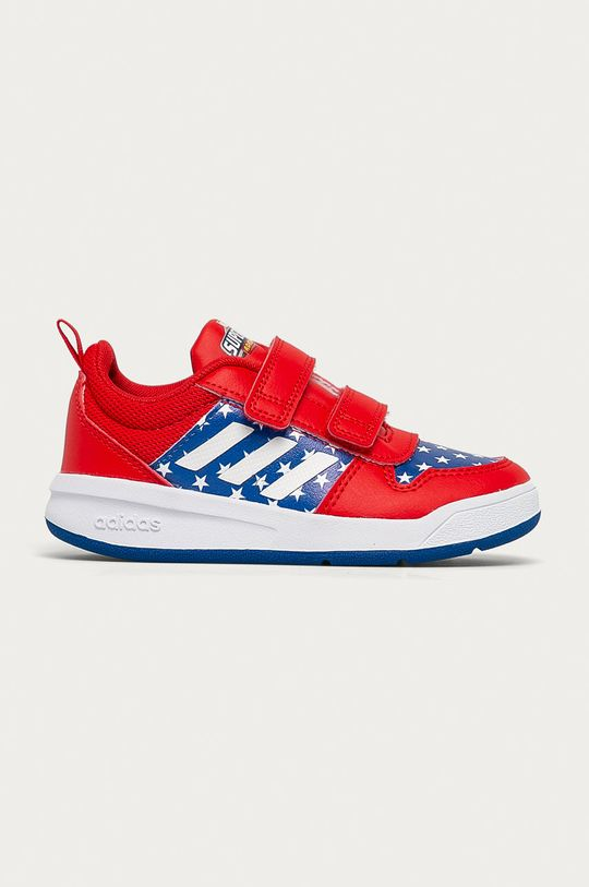 červená adidas - Dětské boty Tensaur Chlapecký