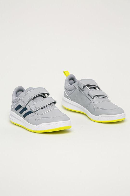 adidas - Detské topánky Tensaur svetlosivá