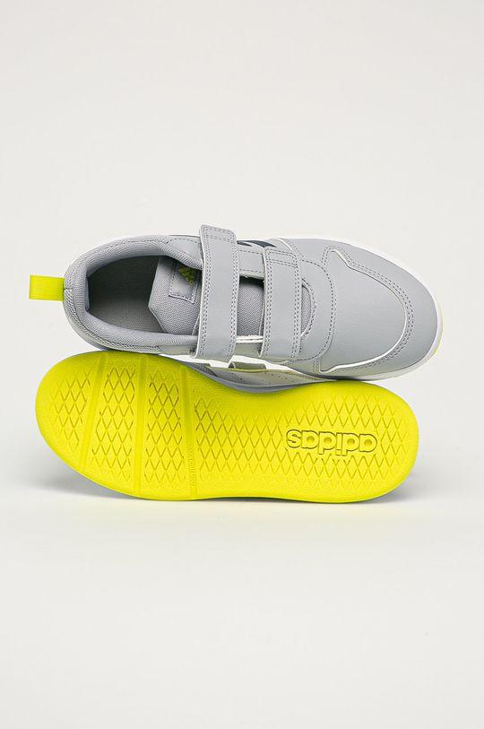 svetlosivá adidas - Detské topánky Tensaur