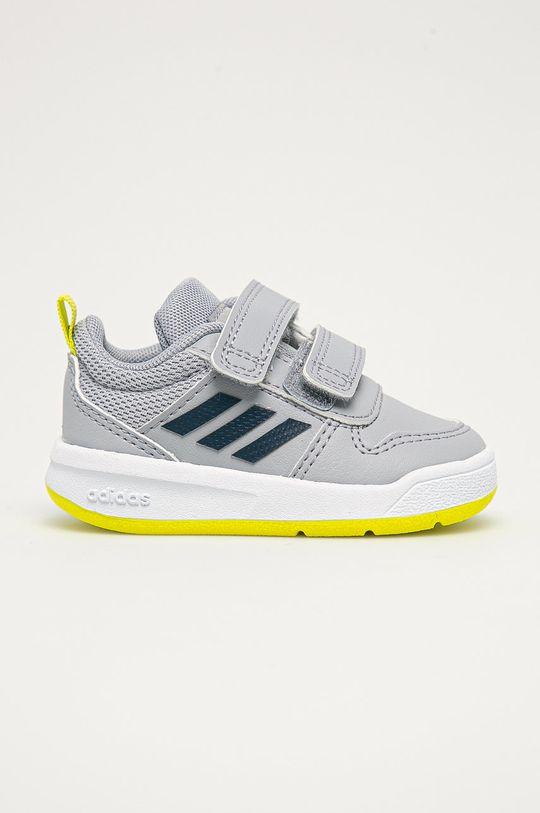 světle šedá adidas - Dětské boty Tensaur Chlapecký
