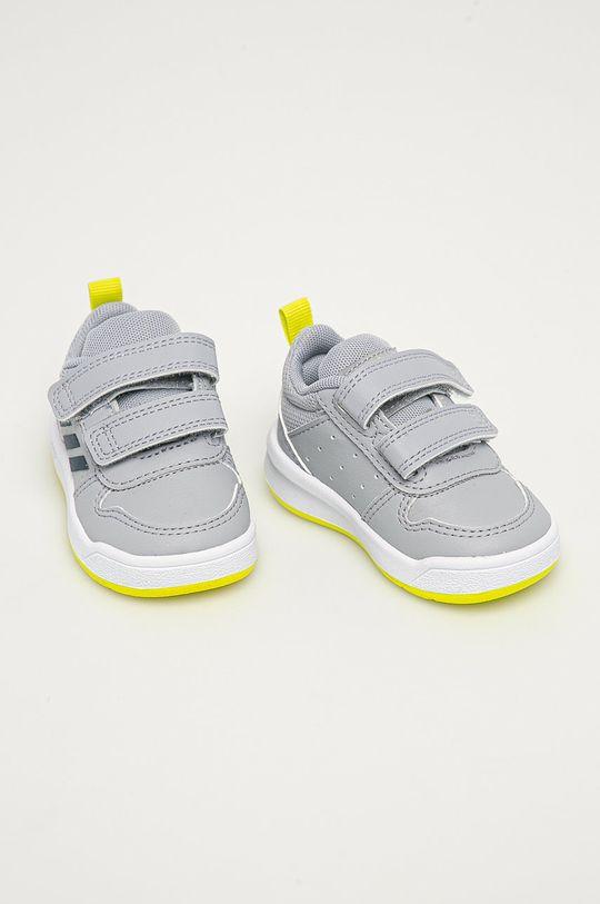 adidas - Dětské boty Tensaur světle šedá
