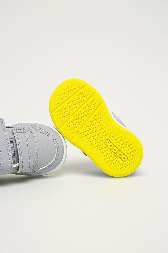 světle šedá adidas - Dětské boty Tensaur