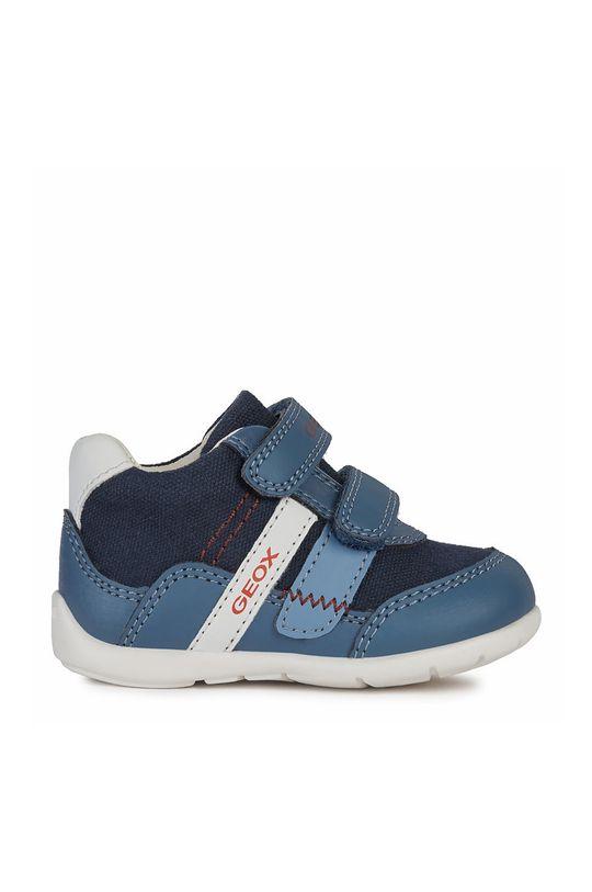 tmavomodrá Geox - Detské topánky Chlapčenský
