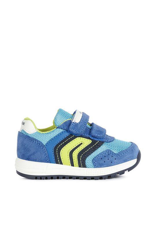 modrá Geox - Dětské boty Chlapecký