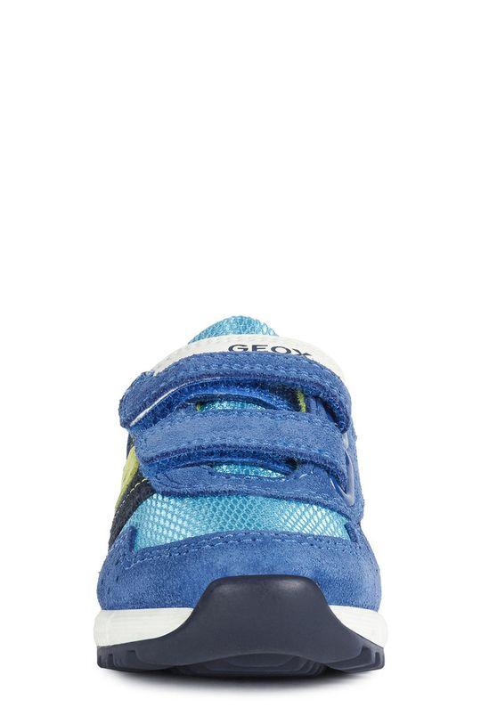 Geox - Dětské boty  Svršek: Textilní materiál, Semišová kůže Podrážka: Guma Vložka: Přírodní kůže