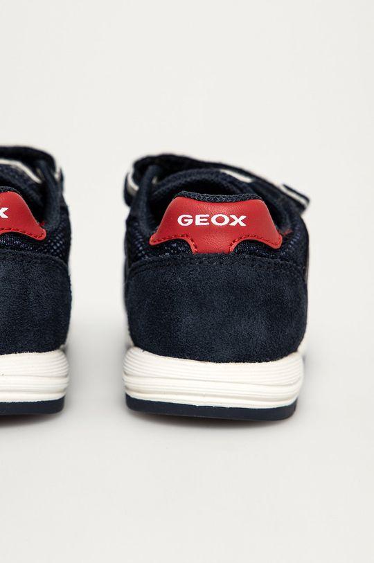 Geox - Detské topánky  Zvršok: Textil, Semišová koža Podrážka: Guma Vložka: Prírodná koža
