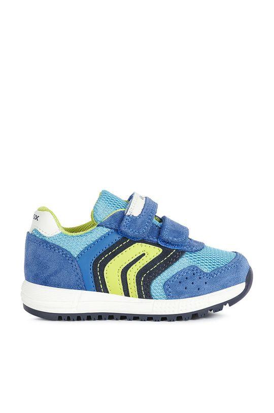 modrá Geox - Detské topánky Chlapčenský