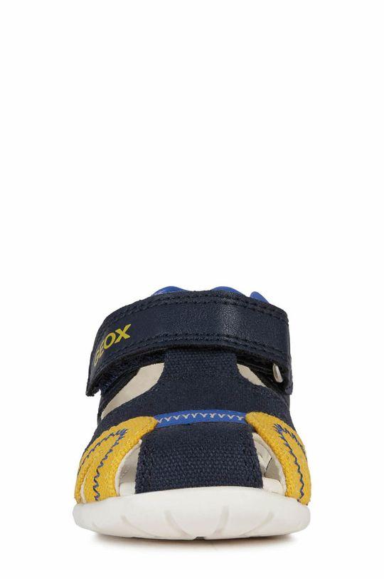 Geox - Sandale copii  Gamba: Material textil, Piele naturala Talpa: Material sintetic Introduceti: Piele naturala