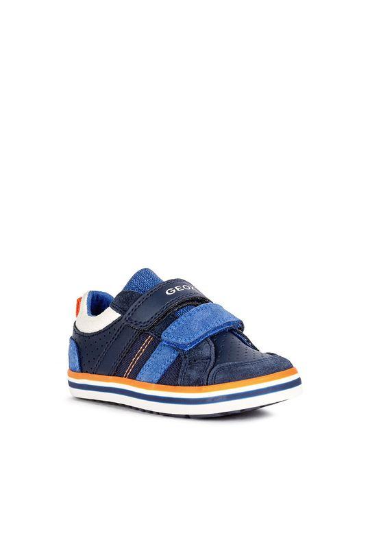 Geox - Dětské boty námořnická modř