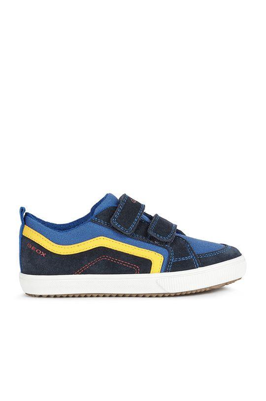 fialová Geox - Detské topánky Chlapčenský