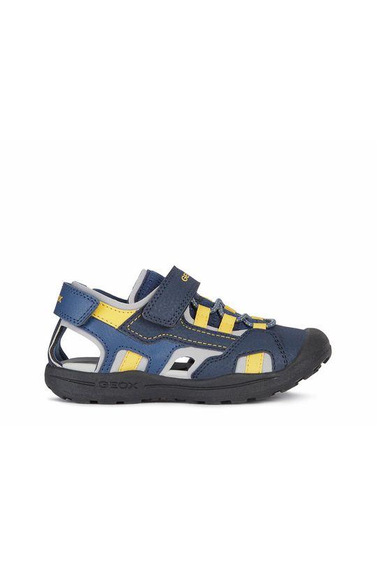 tmavomodrá Geox - Detské sandále Chlapčenský