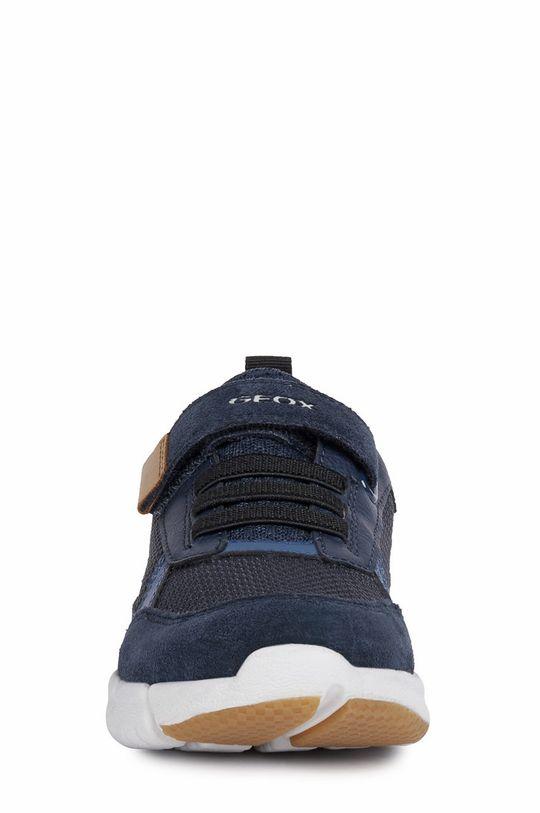 Geox - Pantofi copii  Gamba: Material textil, Piele intoarsa Talpa: Material sintetic Introduceti: Piele naturala