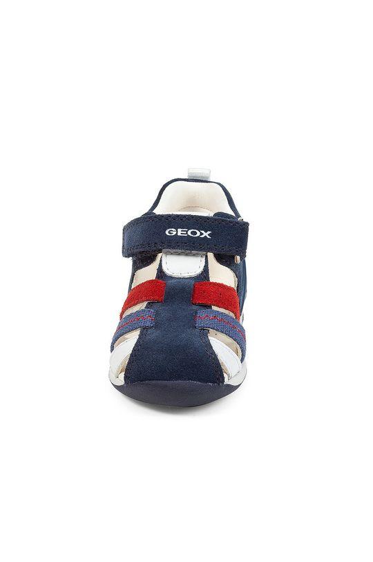 Geox - Dětské sandály  Svršek: Textilní materiál, Semišová kůže Vnitřek: Přírodní kůže Podrážka: Umělá hmota