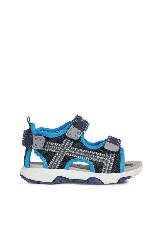 modrá Geox - Dětské sandály Chlapecký
