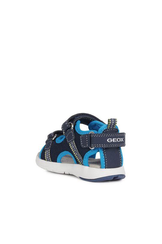 modrá Geox - Dětské sandály