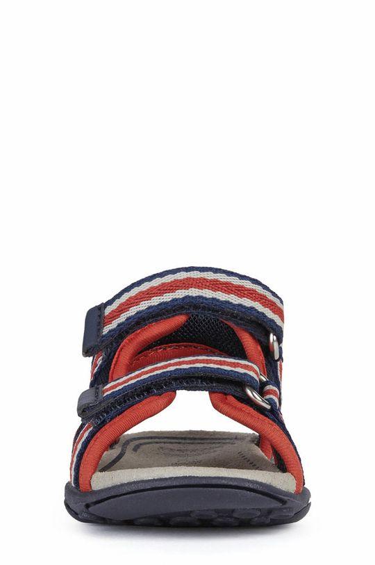 Geox - Sandały dziecięce Cholewka: Materiał tekstylny, Wnętrze: Materiał tekstylny, Skóra naturalna, Podeszwa: Materiał syntetyczny
