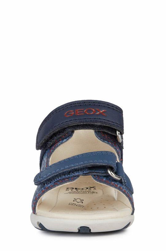 Geox - Sandały dziecięce Cholewka: Materiał tekstylny, Skóra naturalna, Wnętrze: Skóra naturalna, Podeszwa: Materiał syntetyczny