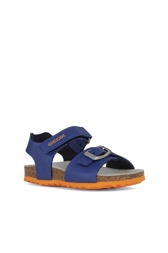 Geox - Dětské sandály fialová
