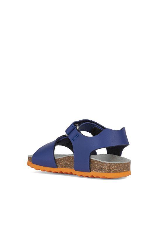 fialová Geox - Dětské sandály