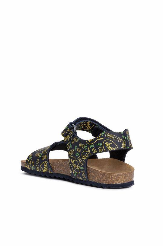 žlutá Geox - Dětské sandály