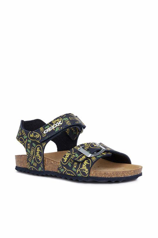 Geox - Dětské sandály žlutá