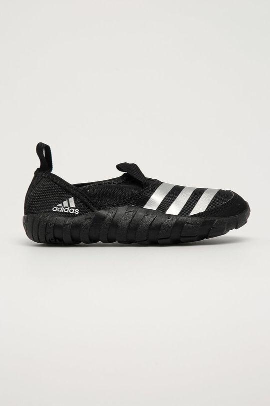 czarny adidas Performance - Buty dziecięce Jawpaw Chłopięcy