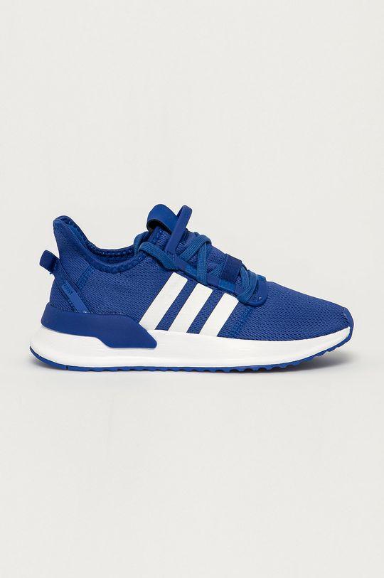 modrá adidas Originals - Detské topánky Path Run Chlapčenský