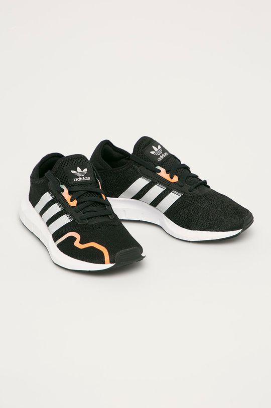 adidas Originals - Dětské boty Swift Run X černá