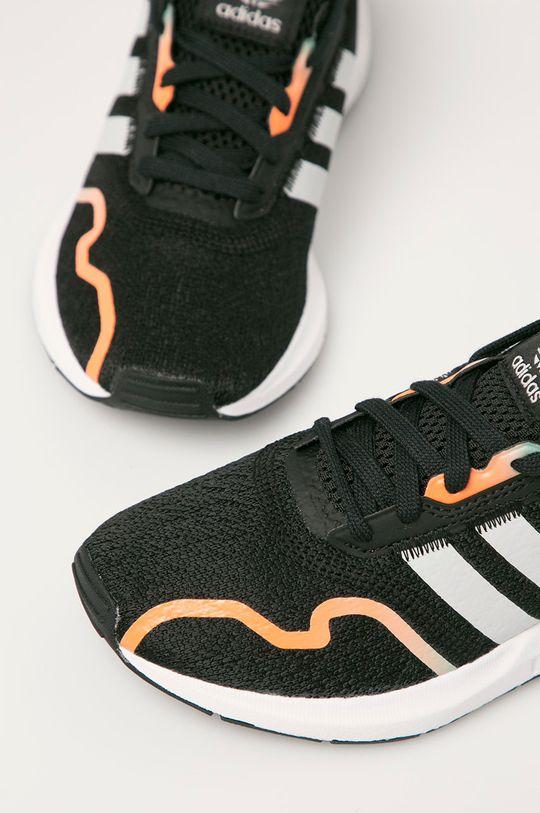 černá adidas Originals - Dětské boty Swift Run X