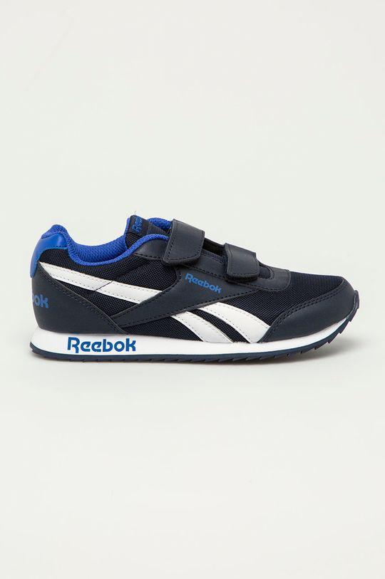 námořnická modř Reebok Classic - Dětské boty Royal Classic Jogger 2 Chlapecký