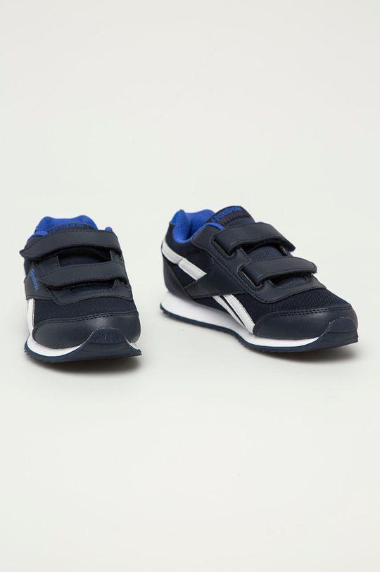 Reebok Classic - Dětské boty Royal Classic Jogger 2 námořnická modř