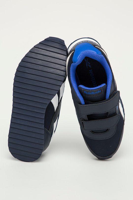 námořnická modř Reebok Classic - Dětské boty Royal Classic Jogger 2