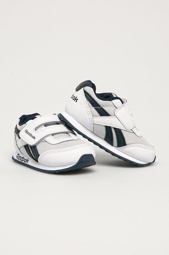 Reebok Classic - Dětské boty Royal CLJOG bílá