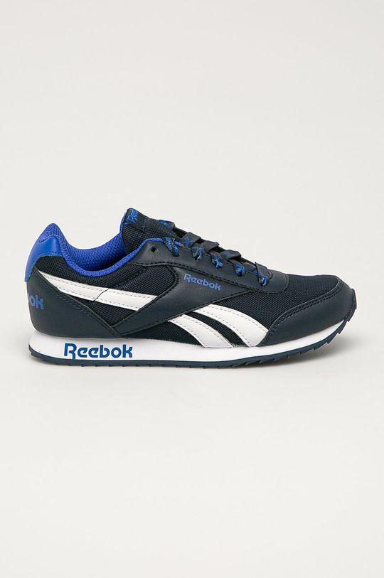 námořnická modř Reebok Classic - Dětské boty Royal Chlapecký