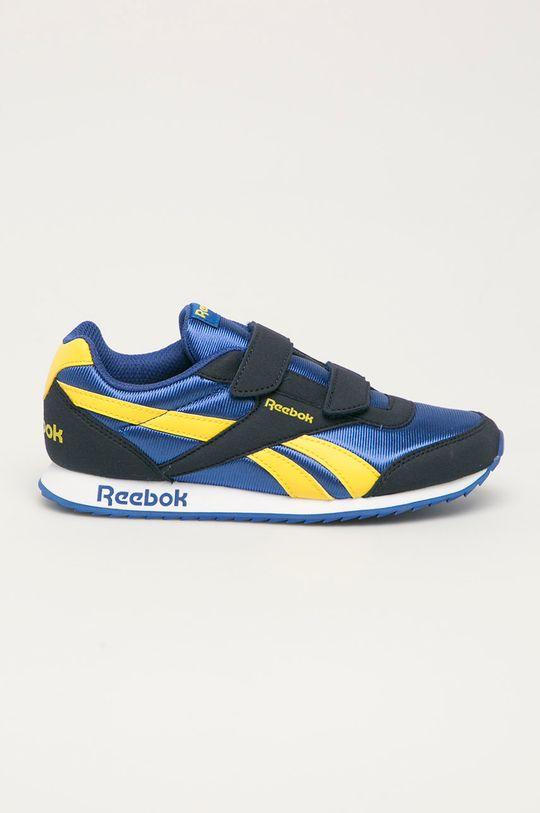 modrá Reebok Classic - Dětské boty Royal Chlapecký