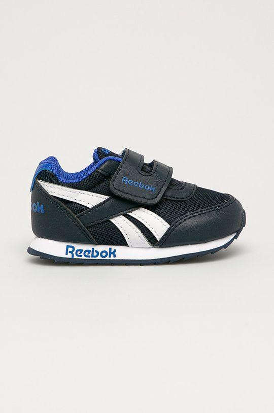 námořnická modř Reebok Classic - Dětské boty Royal CLJOG Chlapecký