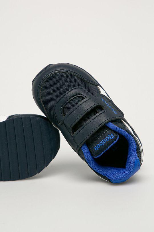 námořnická modř Reebok Classic - Dětské boty Royal CLJOG