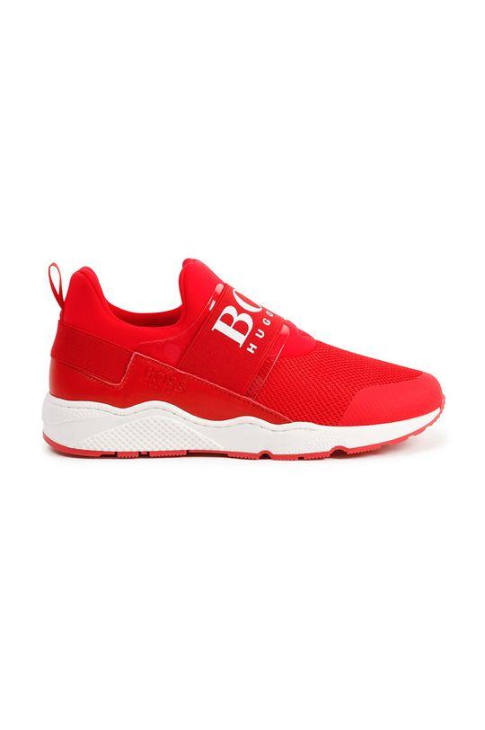 Boss - Buty dziecięce czerwony