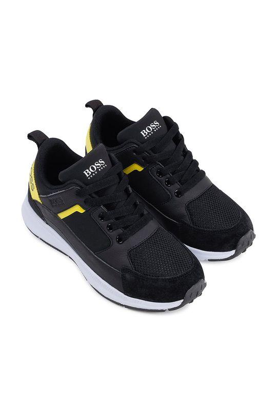 Boss - Dětské boty černá