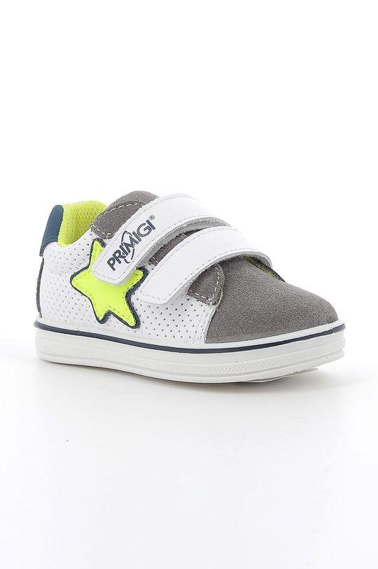 Primigi - Detské topánky svetlosivá