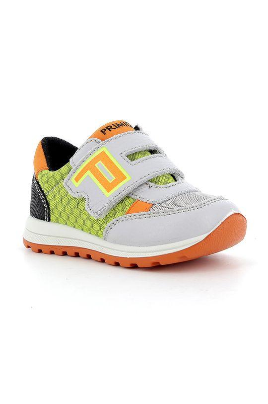 Primigi - Detské topánky žlto-zelená