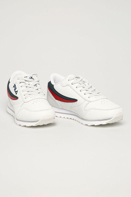 Fila - Dětské boty Orbit bílá