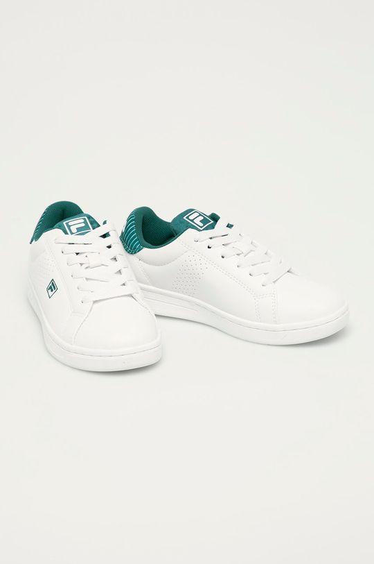 Fila - Buty dziecięce Crosscourt 2 NT biały