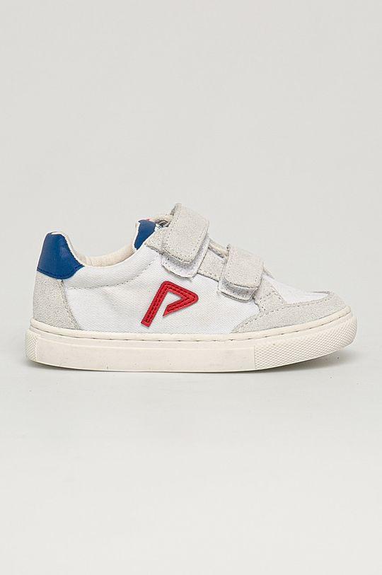 biały Pepe Jeans - Buty dziecięce Adams Archive Chłopięcy