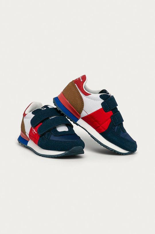 Pepe Jeans - Pantofi copii Sydney bleumarin